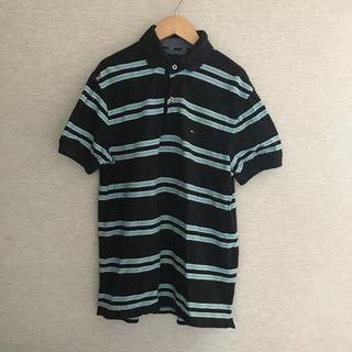 トミーヒルフィガー(TOMMY HILFIGER)のUSA古着 トミー 半袖ポロシャツ【XS】(ポロシャツ)