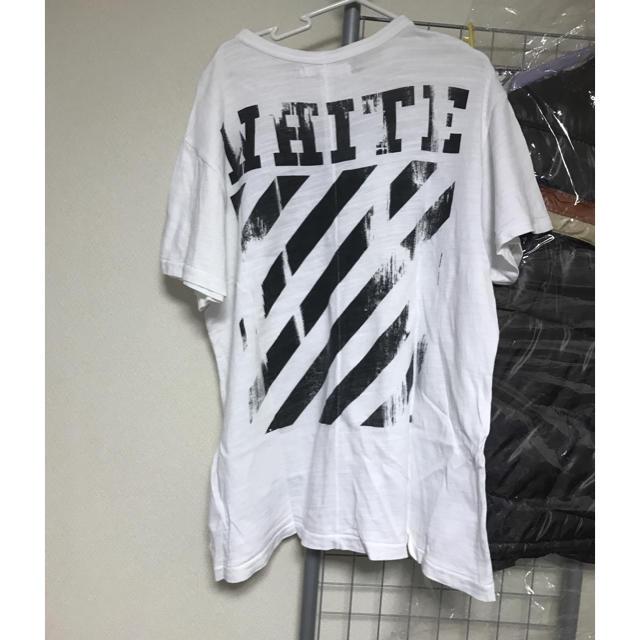 OFF-WHITE - off-white 2016ss Tシャツの通販 by R.O|オフホワイトなら ... 14b125396009