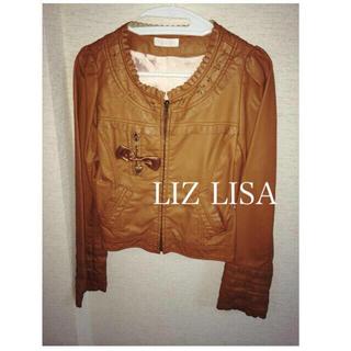 リズリサ(LIZ LISA)のLIZLISA フェイクレザージャケット(ライダースジャケット)