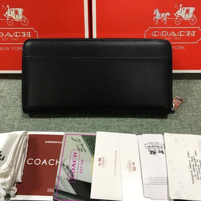 eaacdf4483d6 COACH(コーチ)のcoach コーチ F53773 長財布 スヌーピー コラボ ブラック レディースのファッション