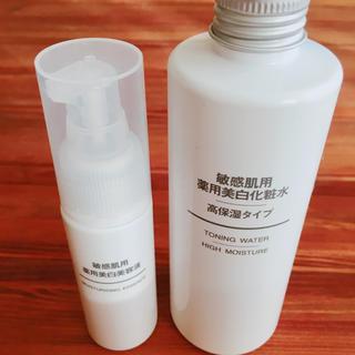 ムジルシリョウヒン(MUJI (無印良品))の無印良品 美白化粧水 美容液(化粧水 / ローション)