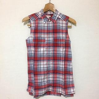 ギャップ(GAP)のチェックノースリーブシャツ(シャツ/ブラウス(半袖/袖なし))