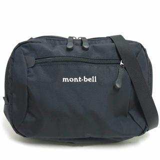モンベル(mont bell)のmont-bell ナイロン ショルダーバッグ 黒  359910 モンベル(ショルダーバッグ)