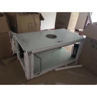 【美品未使用】2WAY高級ウォールナット材150幅座卓テーブル(ローテーブル)