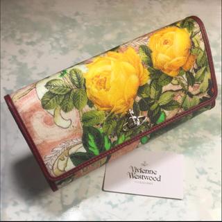 ヴィヴィアンウエストウッド(Vivienne Westwood)のVivienne Westwood  長財布 バラ ヴィヴィアン リリー(財布)