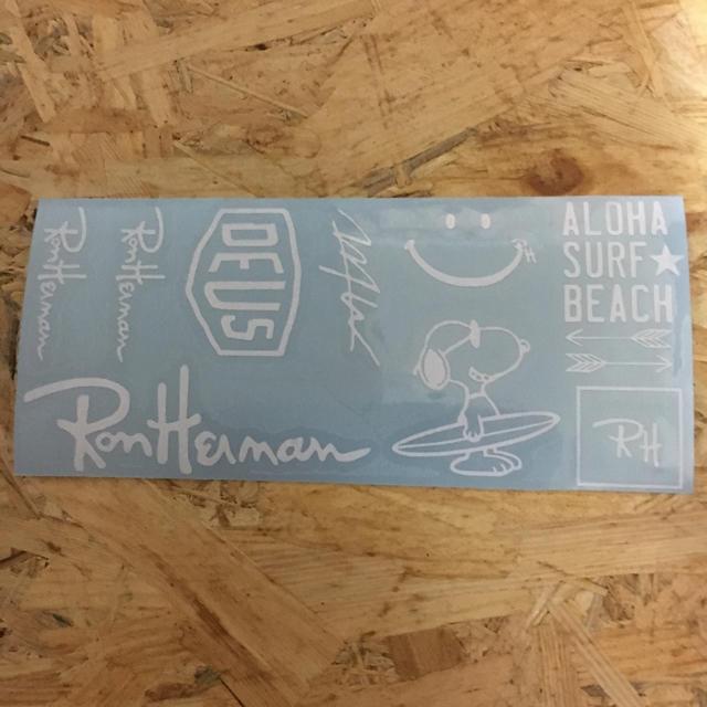 アイコス ロンハーマン デウス wtw ステッカー 白 ハンドメイドのファッション小物(その他)の商品写真