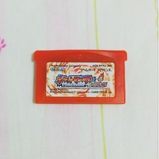 ゲームボーイアドバンス(ゲームボーイアドバンス)のポケモン ファイアレッド(携帯用ゲームソフト)