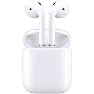 アイフォーン(iPhone)の新品 APPLE アップル AirPods エアポッド MMEF2J/A(ヘッドフォン/イヤフォン)