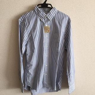 ムジルシリョウヒン(MUJI (無印良品))の無印 ストライプシャツ 新品未使用 半額(シャツ)