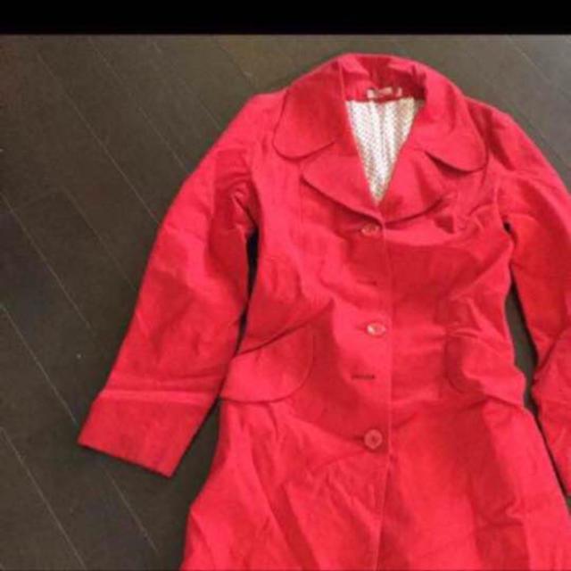 スカート&トレンチコート レディースのジャケット/アウター(トレンチコート)の商品写真