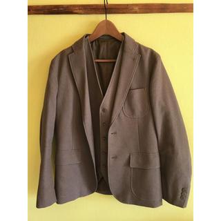 COMME CA ISM - コムサイズム スーツジャケット&ベストset 美品