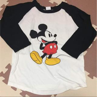 ブリーズ(BREEZE)のm-y-a様専用!美品!ミッキー7部袖Tシャツ(Tシャツ/カットソー(七分/長袖))
