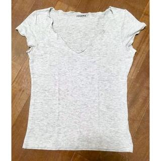 ジョセフエロール(JOSEPH EREUIL)のJOSEPH(ジョセフ)Tシャツ ライトグレー(Tシャツ(半袖/袖なし))