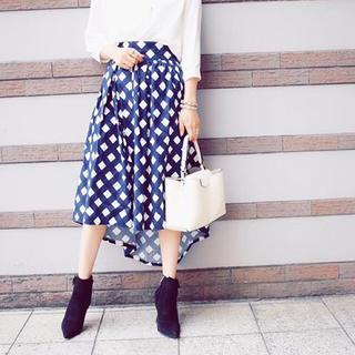 チェスティ(Chesty)のマシェリ新品未使用タグ付きスカート(ひざ丈スカート)