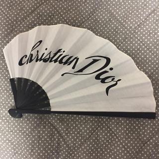 クリスチャンディオール(Christian Dior)のDIOR♡ノベルティ扇子(和装小物)