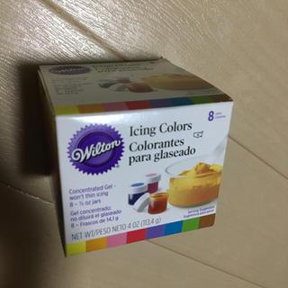 【新品】ウィルトン アイシング 8 カラーキット(菓子/デザート)