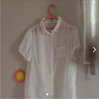ネイビープロデュース(Navy produce)の白 シャツ(シャツ/ブラウス(半袖/袖なし))