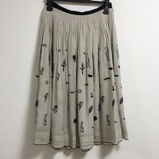 ミナペルホネン(mina perhonen)のミナペルホネン mina perhonen wander スカート(ひざ丈スカート)
