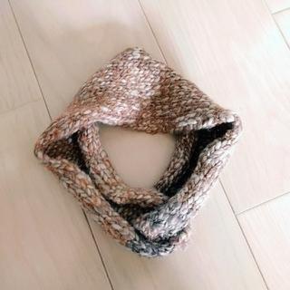 ネストローブ(nest Robe)の新品未使用ざっくりニットヘアバンド 天然生活リンネル菊池亜希子MUJI(ヘアバンド)