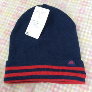 アディダス(adidas)のタグ付き♡アディダスニット帽(ニット帽/ビーニー)