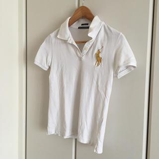 ポロクラブ(Polo Club)のポロ♡白ポロシャツ(ポロシャツ)