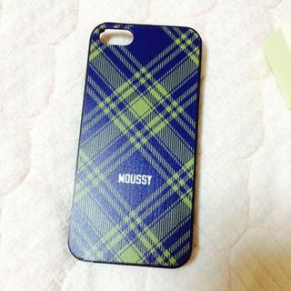 マウジー(moussy)のmoussy iPhoneケース5 5S(モバイルケース/カバー)