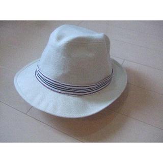 バーバリーブラックレーベル(BURBERRY BLACK LABEL)の新品 ハット帽 メンズ ゴルフ★ブラックレーベル(ウエア)