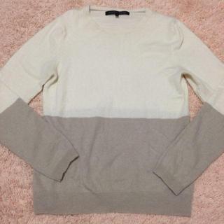 グリーンレーベルリラクシング(green label relaxing)のUA♡カシミヤ100%セーター(ニット/セーター)