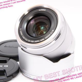 パナソニック(Panasonic)の✨ほぼ新品✨極上品✨超軽くコンパクトな望遠!✨パナソニック 35-100mm✨(レンズ(ズーム))