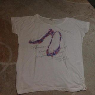 ミスティウーマン(mysty woman)のプリントTシャツ(Tシャツ(半袖/袖なし))