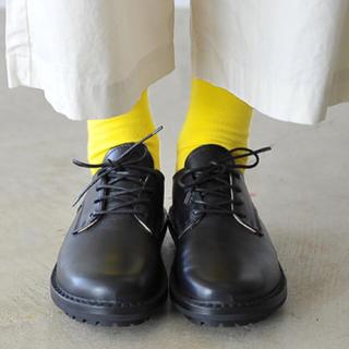トリッペン(trippen)のtrippen トリッペン レザー レースアップシューズ 黒 ブラック(ローファー/革靴)