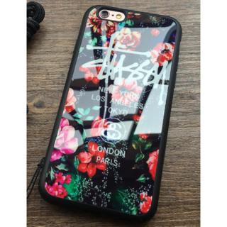 ステューシー(STUSSY)のSummer Price! iPhone5/5s/SEケース ミラー花柄レッド(iPhoneケース)