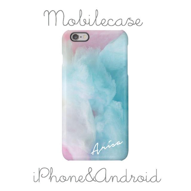 nike iphone8plus ケース レディース | 名入れ可能♡コットンキャンディー柄スマホケース♡iPhone以外も対応機種多数!の通販 by welina mahalo|ラクマ