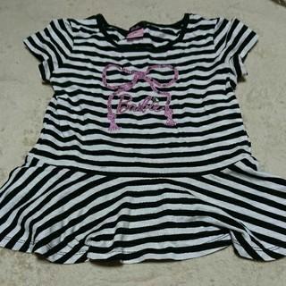 バービー(Barbie)のサイズ130 Barbie シャツ(Tシャツ/カットソー)