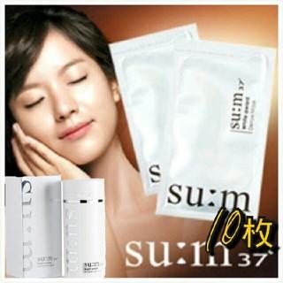 SU:Mホワイトアワード デトックスマスク10枚 美白 3in1 韓国コスメ  (パック/フェイスマスク)