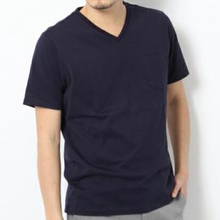 グローバルワーク(GLOBAL WORK)のGLOBAL WORK ピースマVネック Sサイズ(Tシャツ/カットソー(半袖/袖なし))