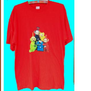 ★テレタビーズ★Tシャツ メンズ3XL(Tシャツ/カットソー(半袖/袖なし))