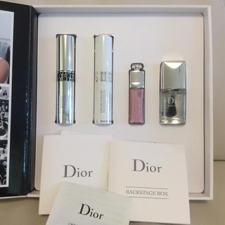 ディオール(Dior)の【新品】ディオール ミニサイズ コスメセット (マスカラ リップ