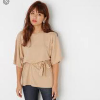 スライ(SLY)のSLY♡新品未使用♡スリット入りルーズTシャツ♡(Tシャツ(半袖/袖なし))