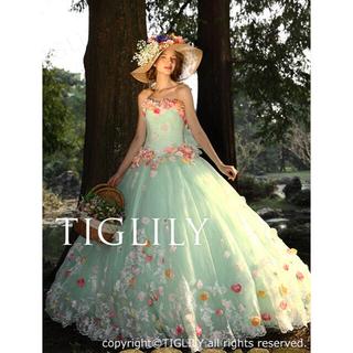 【TIGLILY】ウェディングドレス_カラードレス(c116)(ウェディングドレス)