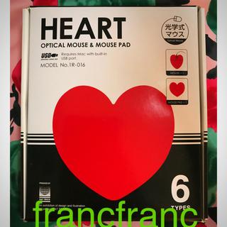 フランフラン(Francfranc)のfranc franc♡マウス+マウスパッド セット(PC周辺機器)