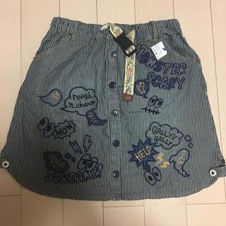 ラフ(rough)の新品 ラフ ミニスカート  Lサイズ(ミニスカート)