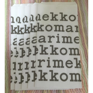マリメッコ(marimekko)のマリメッコの包装紙(ラッピング/包装)