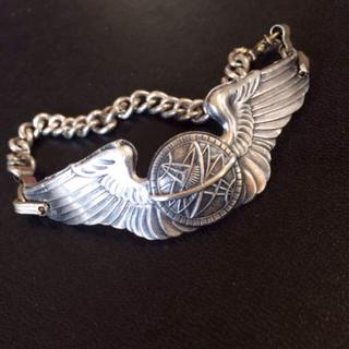 第二次世界大戦 米軍 航空隊 官給品 ブレスレット(その他)