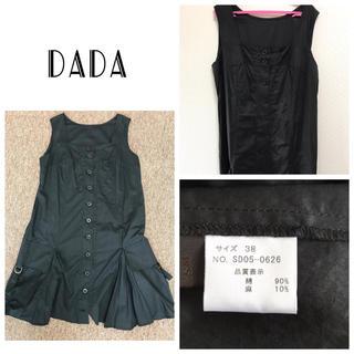 ダダ(DADA)のDADA 定価16000ジャンバースカート(ひざ丈ワンピース)