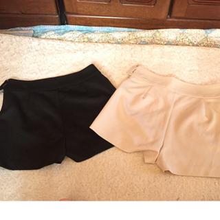 モンリリィ(monlily)のモンリリィ mon lily ショーパン 2色セット 新品未使用 タグ付き (ショートパンツ)