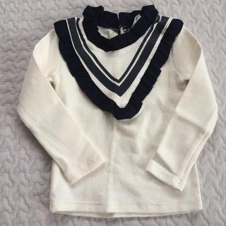 コドモビームス(こども ビームス)の韓国子供服 フリルトップス 90(シャツ/カットソー)