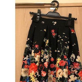 チェスティ(Chesty)のプレシャスストーン~Precious Stone Jewelry~ 花柄スカート(ひざ丈スカート)