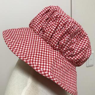 ジェーンマープル(JaneMarple)のジェーンマーブル ギンガムチェック 帽子(帽子)