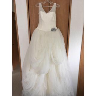 ヴェラウォン(Vera Wang)のmomo様専用 White by Vera Wang ウェディングドレス(ウェディングドレス)
